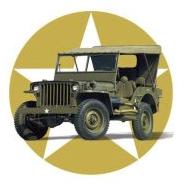 Emblème du Jeep Club des Flandres