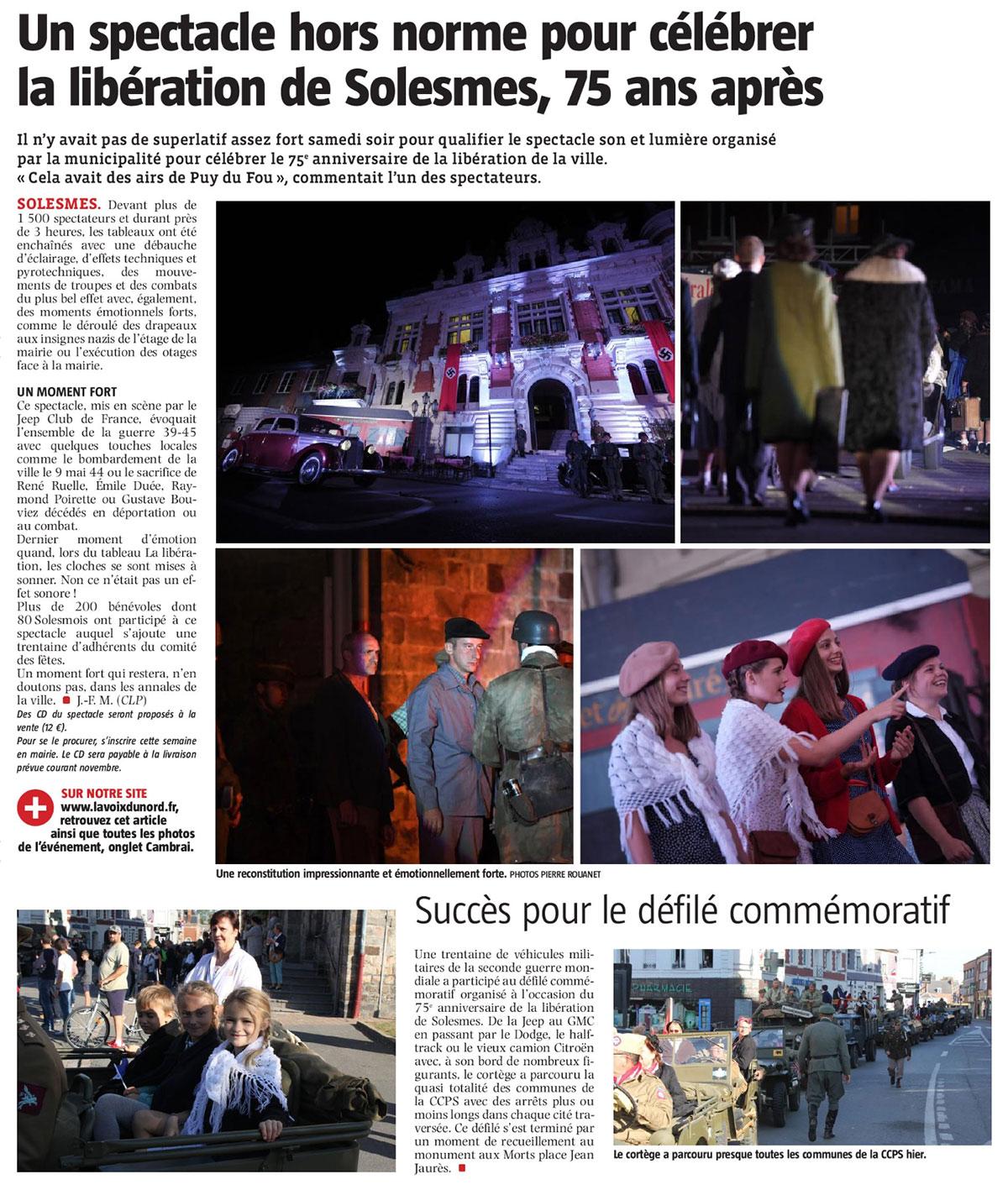 Journal la Voix Du Nord